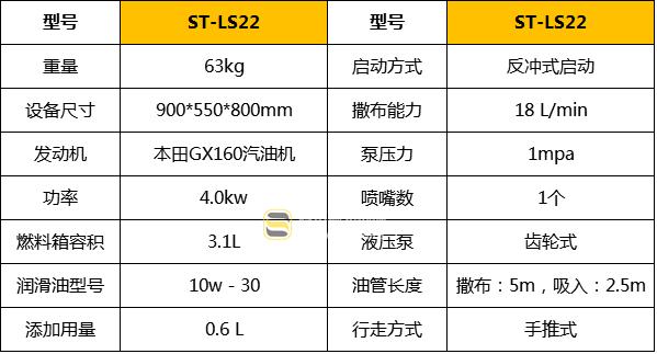 沥青洒布机ST-LS22