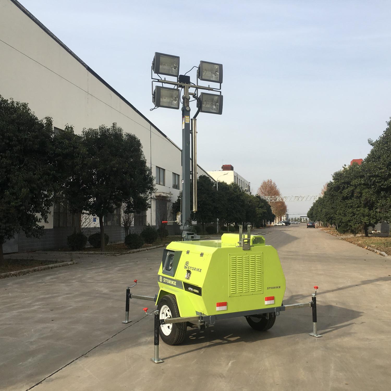 大型移动照明车施工过程中发生的故障问题及解决措施
