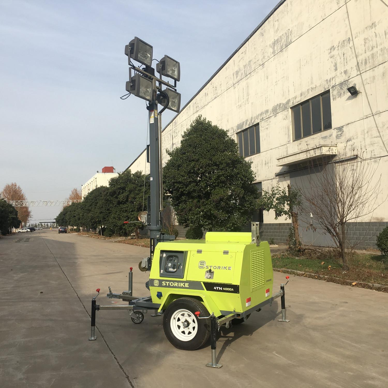 7米9米移动照明车照明灯塔冬季启动过程中注意事项有哪些?