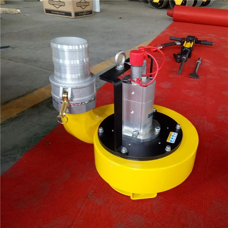 同样是雨季洪涝排水,为什么液压渣浆泵排水效率高这么多?