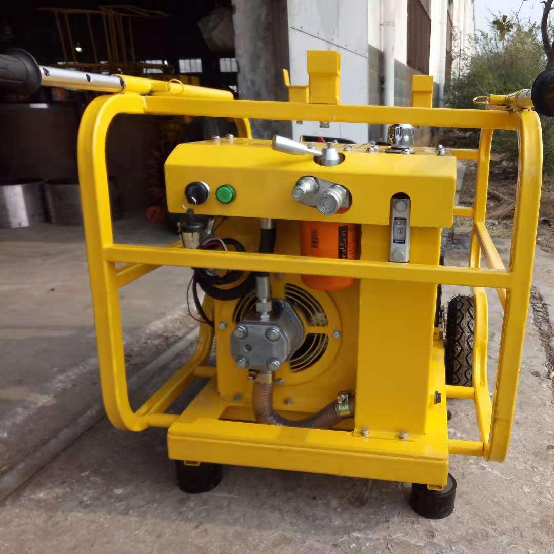 双缸的液压动力站使用前应有哪些注意事项