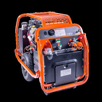液压动力站的液压油缸走速不匀是怎么回事?