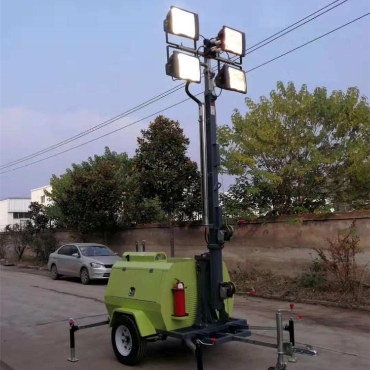 全方位移动照明车用途和移动照明车使用方法及维护