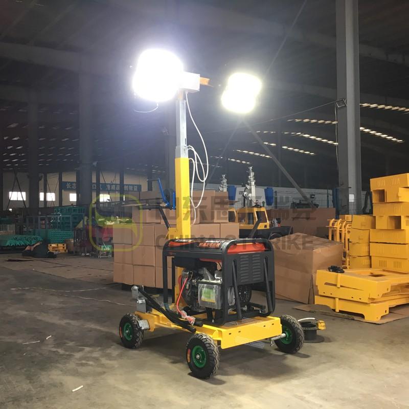 施工中的移动照明车如何进行散热及散热的原理有哪些