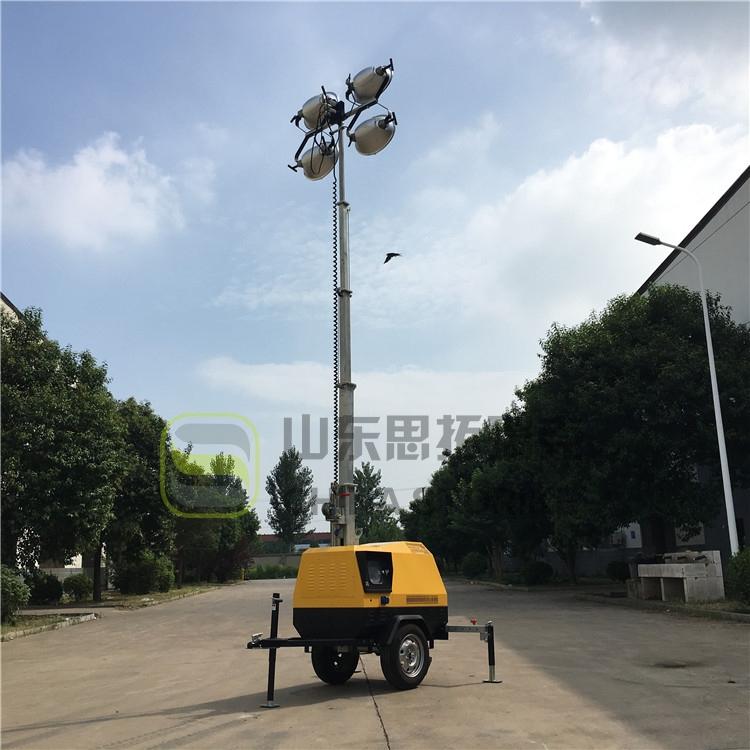 应急移动照明车的结构特点和技术背景