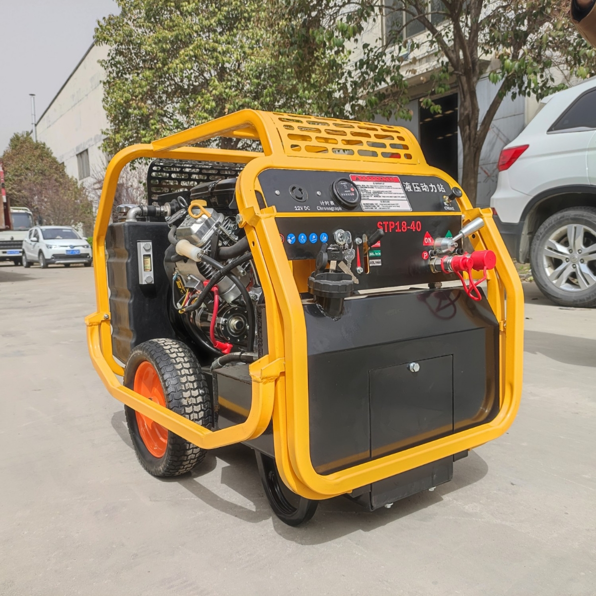 液压动力站所使用的发动机的维护保养